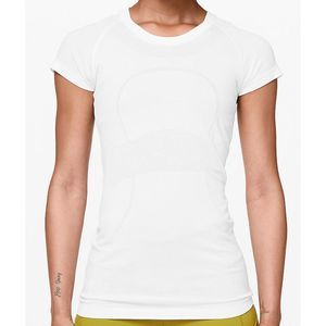 LULULEMON Swiftly Tech Seamless Tee White Top L XL